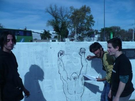 repintando murales